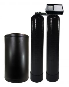 Fleck 9100 Light Duty Twin-Alternating Water Softener | Up to 17 GPM
