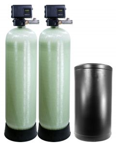 Fleck 2900S 2 Inch Commercial Duplex Alternating Metered Softener | Up to 140GPM