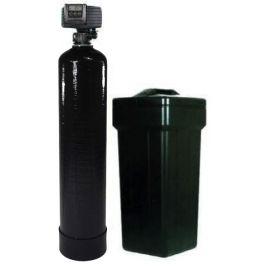 8/% Resin with Carbon System Black AFWFilters 56SXT GFCRBWS48 Fleck 5600SXT 48,000 Grain Water Softener with Upflow Filter